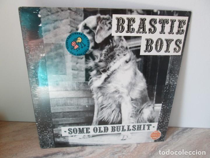 BEASTIE BOYS. SOME OLD BULLSHIT. LP VINILO. NUEVO SIN DESPRECINTAR. 1994.GRAND ROYAL REORDS (Música - Discos - LP Vinilo - Rap / Hip Hop)