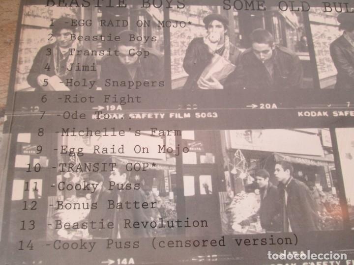 Discos de vinilo: BEASTIE BOYS. SOME OLD BULLSHIT. LP VINILO. NUEVO SIN DESPRECINTAR. 1994.GRAND ROYAL REORDS - Foto 3 - 173564208
