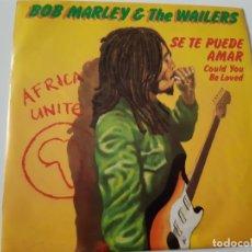 Discos de vinilo: BOB MARLEY- COULD YOU BE LOVE - SPAIN SINGLE 1980 - VINILO COMO NUEVO.. Lote 173564783