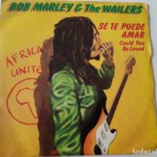 Discos de vinilo: BOB MARLEY- COULD YOU BE LOVE - SPAIN SINGLE 1980 - VINILO COMO NUEVO.. Lote 173564964