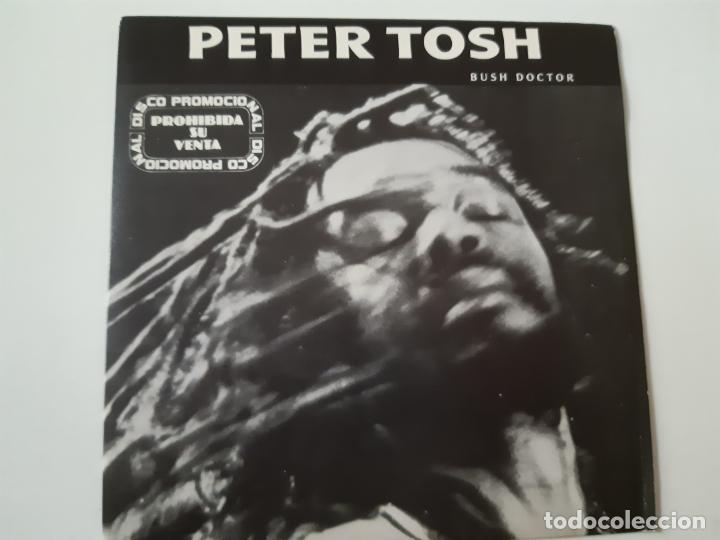 PETER TOSH- BUSH DOCTOR - SPAIN PROMO SINGLE 1984 - COMO NUEVO. (Música - Discos - Singles Vinilo - Reggae - Ska)