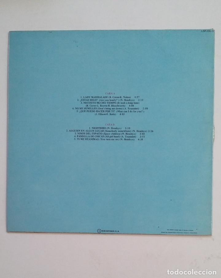 Discos de vinilo: LABELLE. NIGHTBIRDS. LP. TDKDA59 - Foto 2 - 173565403
