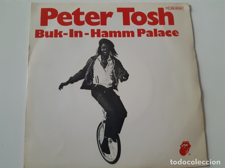 PETER TOSH- BUCK-IN-HAMM PALACE - SPAIN SINGLE 1979 - VINILO COMO NUEVO. (Música - Discos - Singles Vinilo - Reggae - Ska)