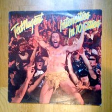 Discos de vinilo: TED NUGENT - INTENSITIES IN 10 CITIES, CBS, 1981. HOLLAND.. Lote 206550742