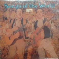 Discos de vinilo: HEIN & OSS - SONGS OF THE WORLD - 1968 - LP - ALEMAN. Lote 173572987
