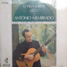 Discos de vinilo: ANTONIO MEMBRADO - LOS UNOS POR LOS OTROS: HECTOR VILLALOBOS - 1968 - LP - MOSHE-NAÏM. Lote 173573077