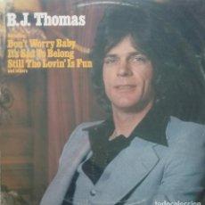 Discos de vinilo: B.J. THOMAS - B. J. THOMAS - 1977 - LP. Lote 173573152