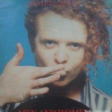 Discos de vinilo: SIMPLY RED - MEN AND WOMEN - 1987 - LP. Lote 173573258