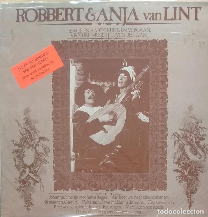 ROBERT & ANJA VAN LINT - HEMEL EN AARDE KUNNEN VERGAAN VROLIJKE MUSICI BLIJVEN BESTAAN - LP (Música - Discos - LP Vinilo - Cantautores Extranjeros)