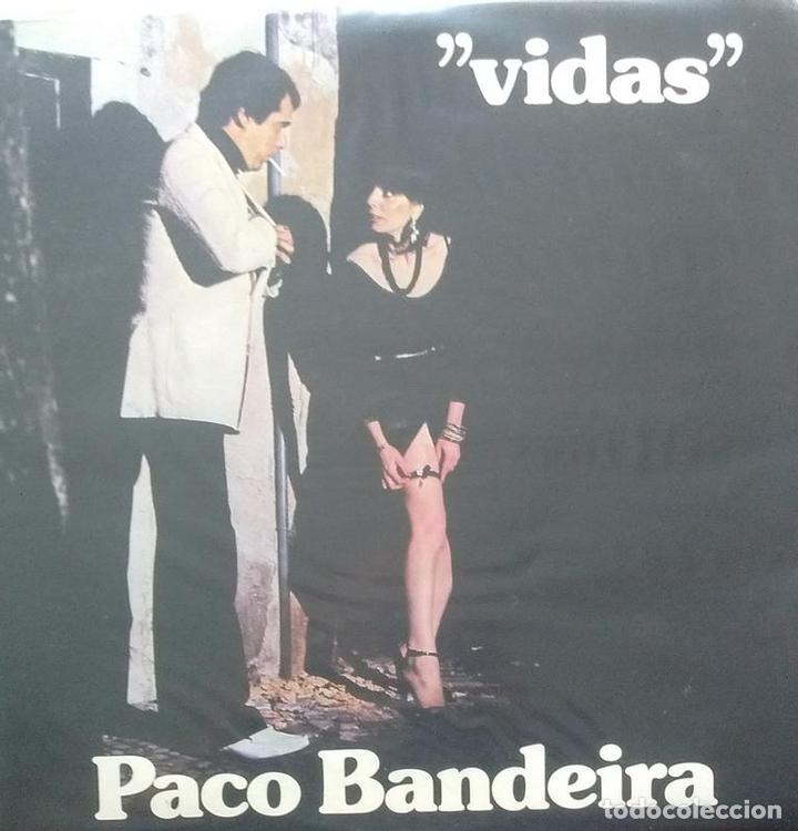 PACO BANDEIRA - VIDAS - LP - PORTUGUES - DACAPO (Música - Discos - LP Vinilo - Cantautores Extranjeros)