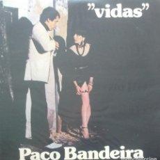Discos de vinilo: PACO BANDEIRA - VIDAS - LP - PORTUGUES - DACAPO. Lote 173573398