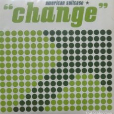 Discos de vinilo: AMERICAN SUITCASE - CHANGE / SUNSTROKE / STOP PAINTING MY HEART / BACK ON EARTH - 2007 - EP. Lote 173573483