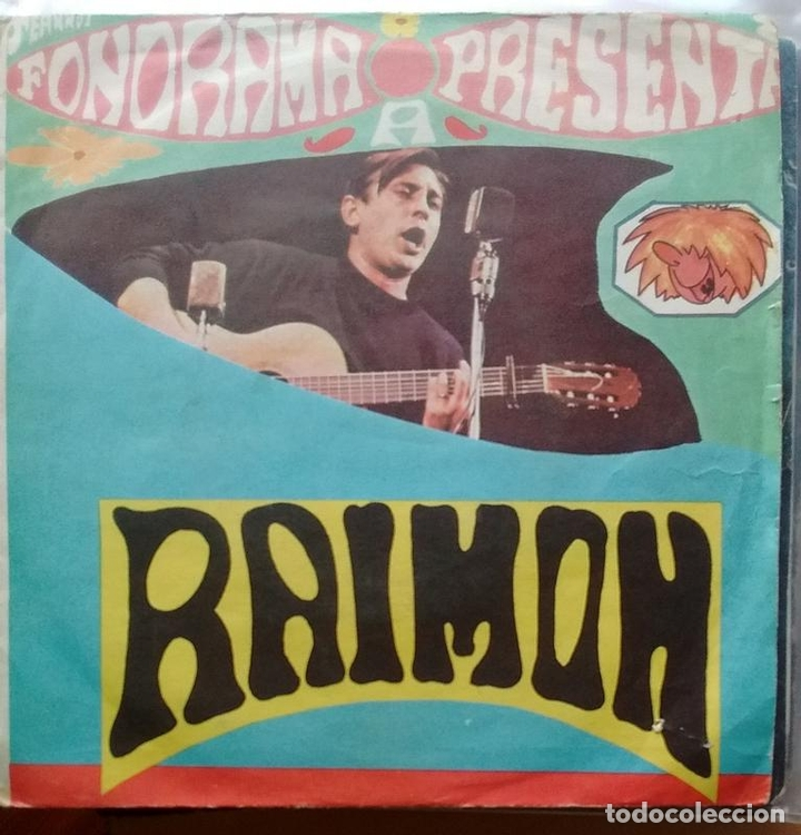 RAIMON - SI UN DÍA VOLS / AHIR (DIGUEM NO) - 1963 - SINGLE - CATALA (Música - Discos - Singles Vinilo - Cantautores Españoles)