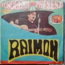 Discos de vinilo: RAIMON - SI UN DÍA VOLS / AHIR (DIGUEM NO) - 1963 - SINGLE - CATALA. Lote 173573719