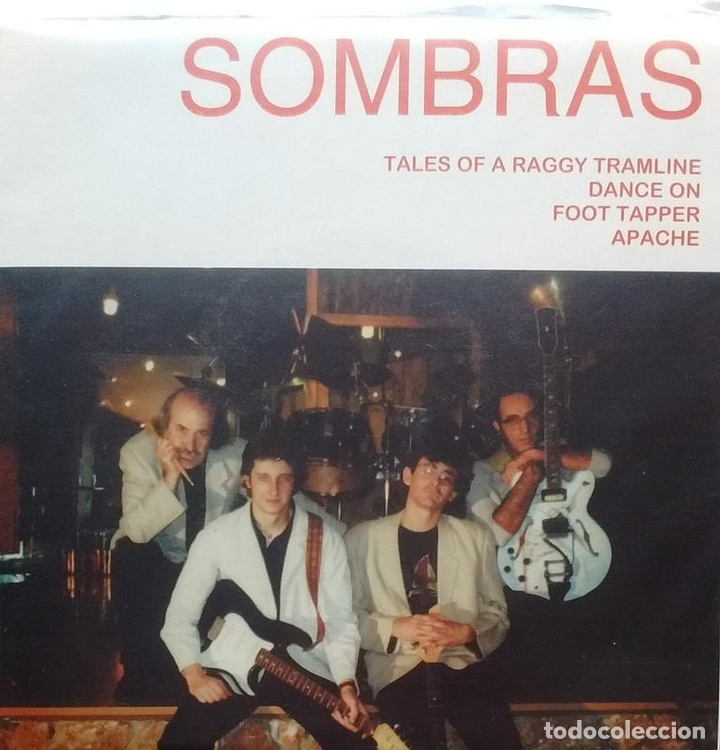 Discos de vinilo: Sombras - Tales of a Raggy Tramline / Dance On / Foot Tapper / Apache - 1997 - EP - Foto 1 - 173573799