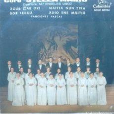 Discos de vinilo: CORO STELLA MARIS - AGUR IZAR ORI / SOR LEKUA / MAITIA NUN ZIRA / ADIO ENE MAITIA -1965 EP EUSKERA. Lote 173573809