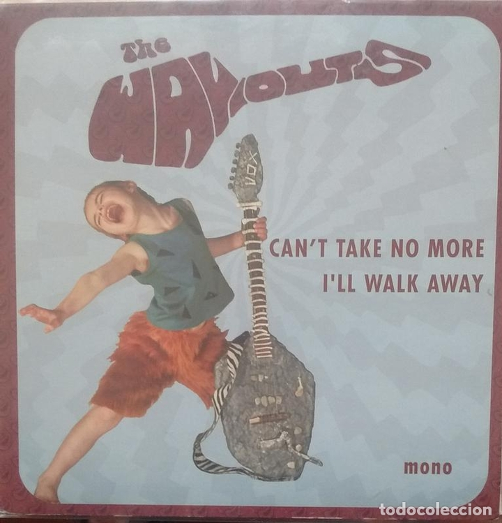 Discos de vinilo: Wayouts - The Way-outs - Can't Take No More / I'll Walk Away - 2005 - Single - Foto 1 - 173573864
