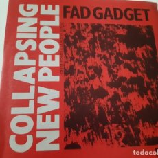 Discos de vinilo: FAD GADGET - COLLAPSING NEW PEOPLE- SPAIN PROMO SINGLE 1984 - COMO NUEVO.. Lote 173575412