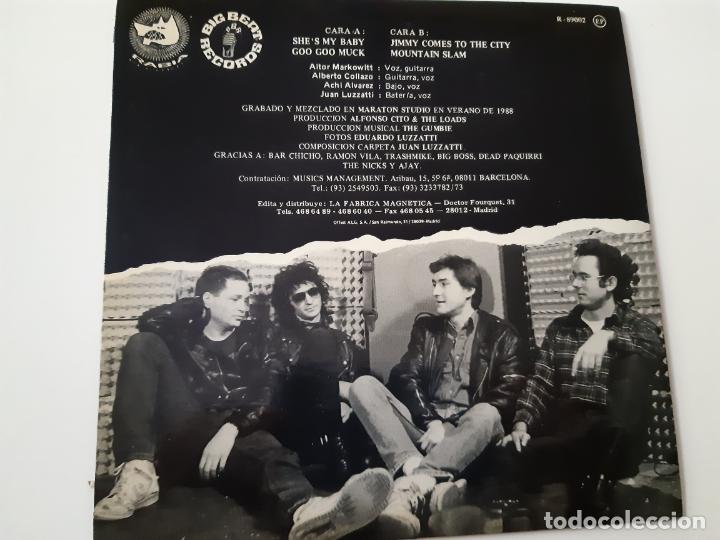 Discos de vinilo: THE LOADS- MEET THE LOADS- PROMO EP 1989- EXC. ESTADO. - Foto 2 - 173576847