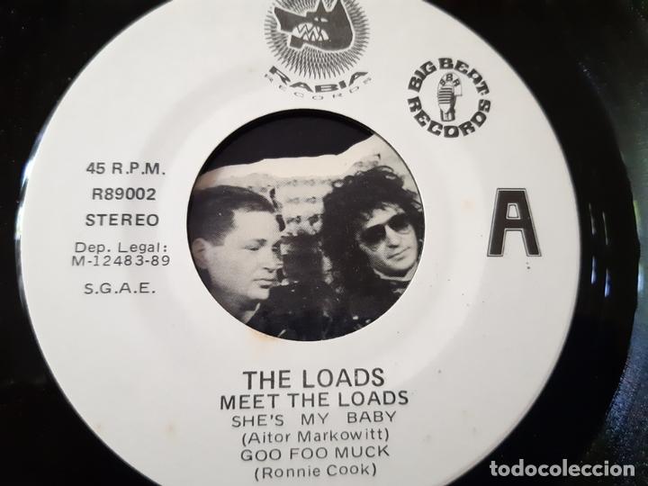 Discos de vinilo: THE LOADS- MEET THE LOADS- PROMO EP 1989- EXC. ESTADO. - Foto 3 - 173576847