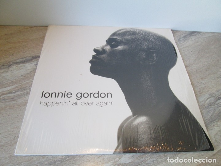Discos de vinilo: LONNIE GORDON. HAPPENIN´ALL OVER AGAIN.MAXI SINGLE VINILO. TRAX RECORDING 1998. - Foto 2 - 173581639