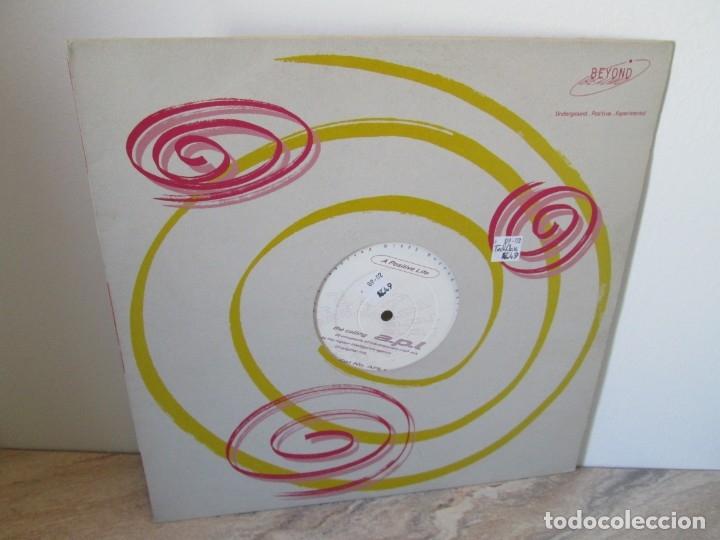 A POSITIVE LIFE. THE CALLING. A.P.L. LP VINILO. BEYOND RECORDS. 1993. VER FOTOGRAFIAS ADJUNTAS (Música - Discos - LP Vinilo - Disco y Dance)