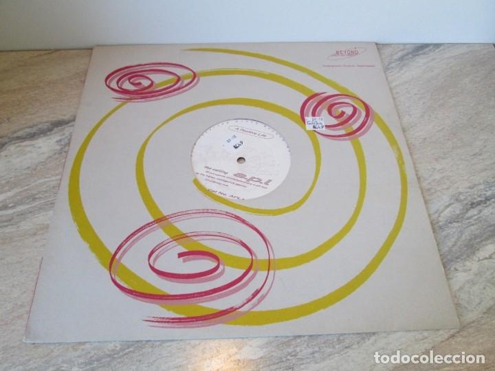 Discos de vinilo: A POSITIVE LIFE. THE CALLING. A.P.L. LP VINILO. BEYOND RECORDS. 1993. VER FOTOGRAFIAS ADJUNTAS - Foto 2 - 173582905