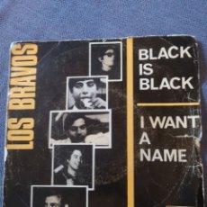 Discos de vinilo: LOS BRAVOS BLACK IS BLACK. Lote 173587928