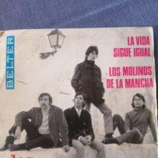 Discos de vinilo: LOS GRITOS LA VIDA SIGUE IGUAL. Lote 173589622