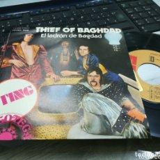 Discos de vinilo: THIEF OF BAGHDAD SINGLE STING ESPAÑA 1974. Lote 173591449