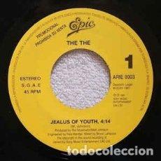 Discos de vinilo: THE THE - JEALOUS OF YOUTH - 7 SINGLE - AÑO 1992. Lote 173591455