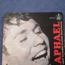 Discos de vinilo: RAPHAELYO SOY AQUEL. Lote 173593682