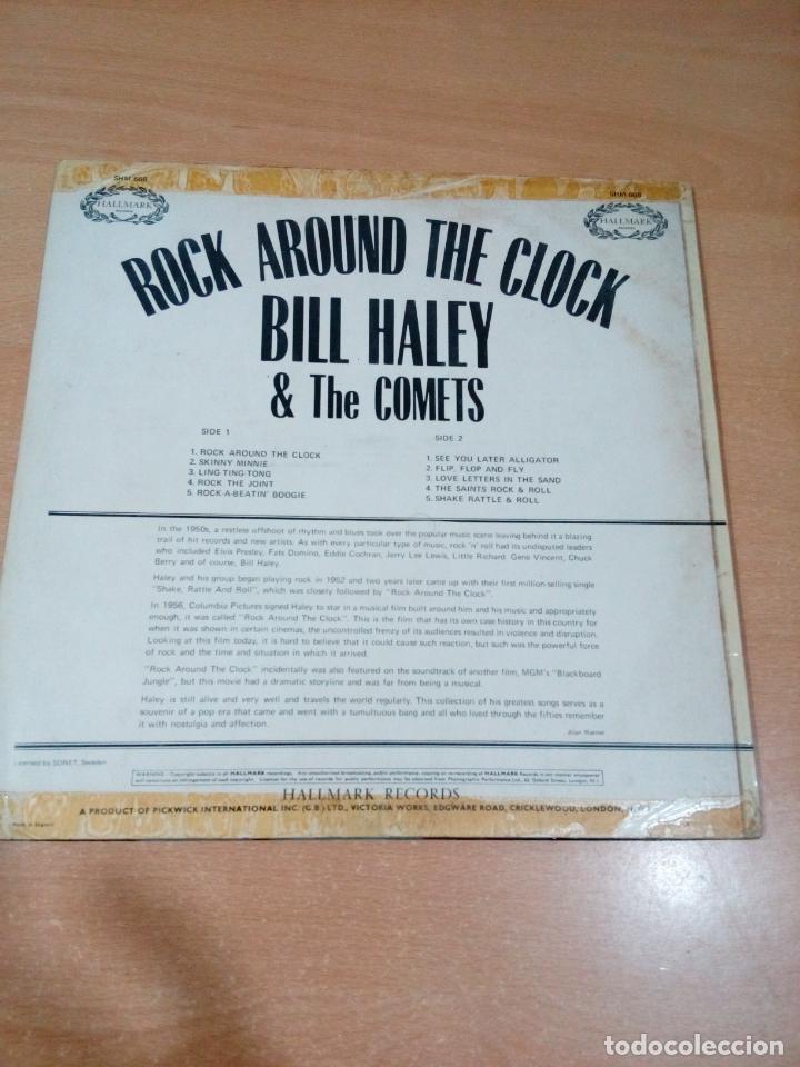 Discos de vinilo: Bill haley and the comets - rock around the clock - buen estado ver fotos - Foto 2 - 173595483