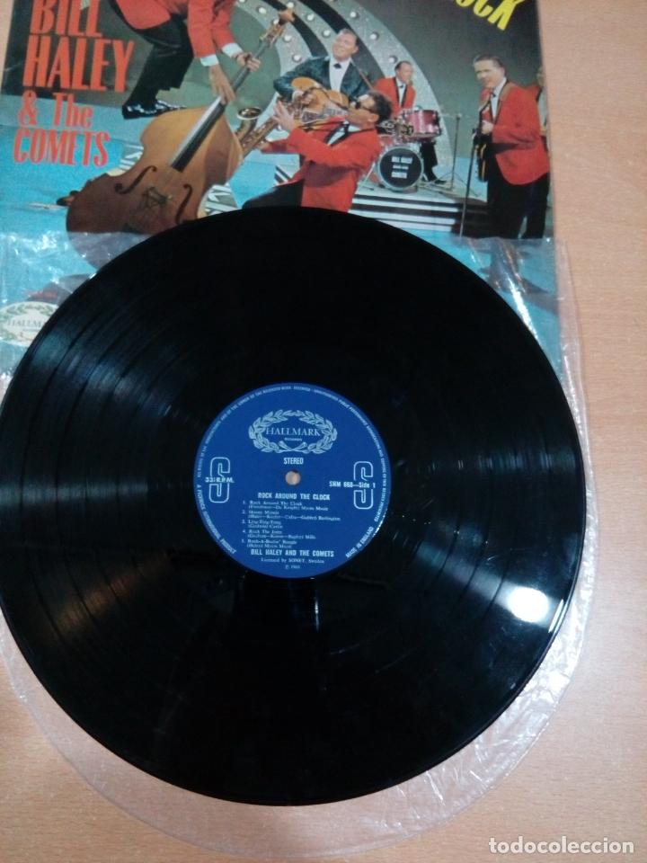 Discos de vinilo: Bill haley and the comets - rock around the clock - buen estado ver fotos - Foto 3 - 173595483
