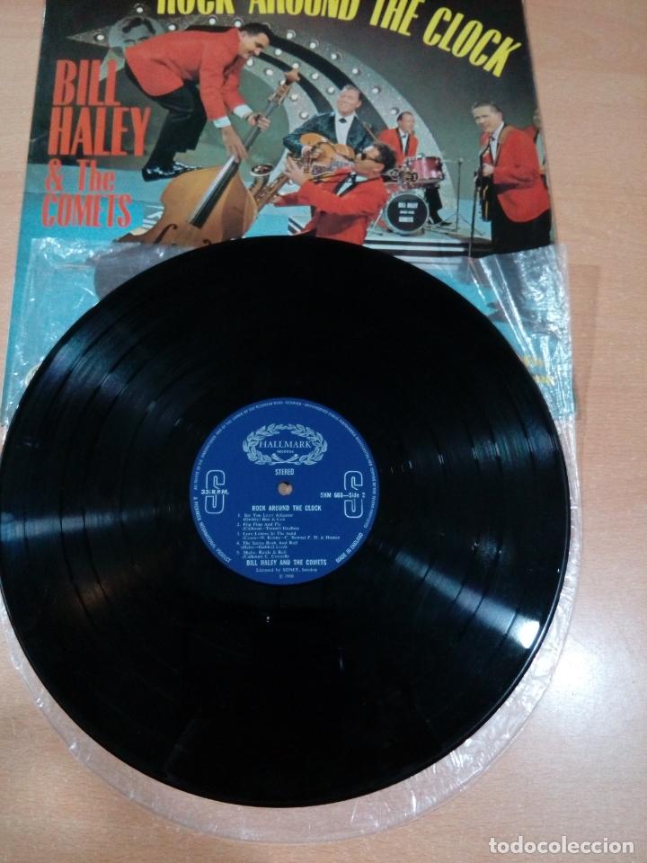 Discos de vinilo: Bill haley and the comets - rock around the clock - buen estado ver fotos - Foto 5 - 173595483