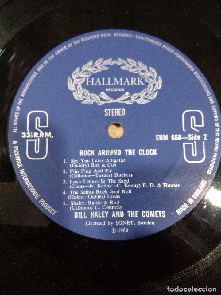 Discos de vinilo: Bill haley and the comets - rock around the clock - buen estado ver fotos - Foto 6 - 173595483