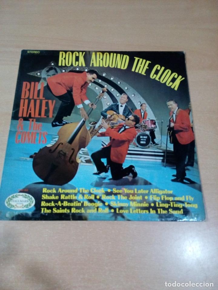 BILL HALEY AND THE COMETS - ROCK AROUND THE CLOCK - BUEN ESTADO VER FOTOS (Música - Discos - LP Vinilo - Rock & Roll)