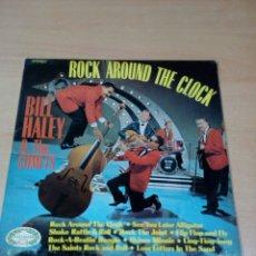 Discos de vinilo: BILL HALEY AND THE COMETS - ROCK AROUND THE CLOCK - BUEN ESTADO VER FOTOS. Lote 173595483