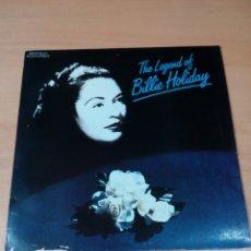 Discos de vinilo: RARO THE LEGEND OF BILLIE HOLIDAY - LEER ESTADO - - VER FOTOS. Lote 173597158