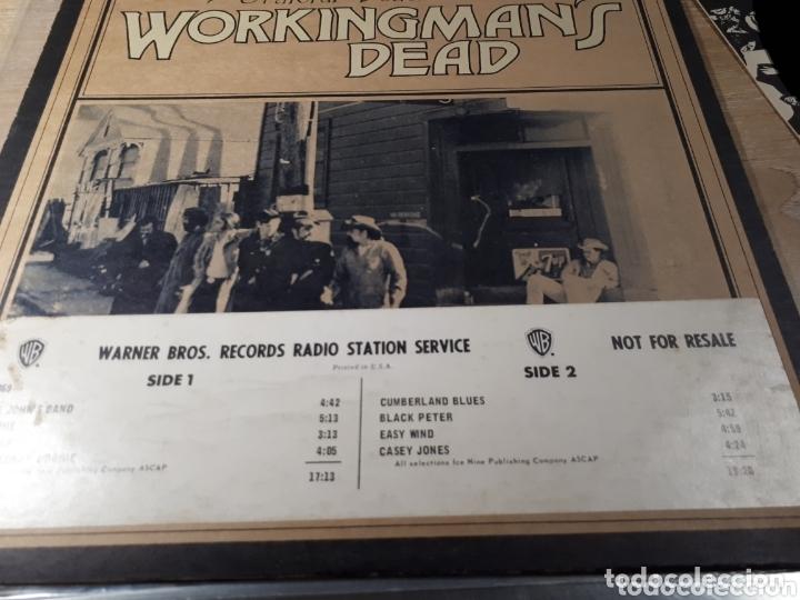 Discos de vinilo: The Grateful Dead Workingmans Dead LP promo Publicado para la radio antes de salir a la venta - Foto 2 - 173607119