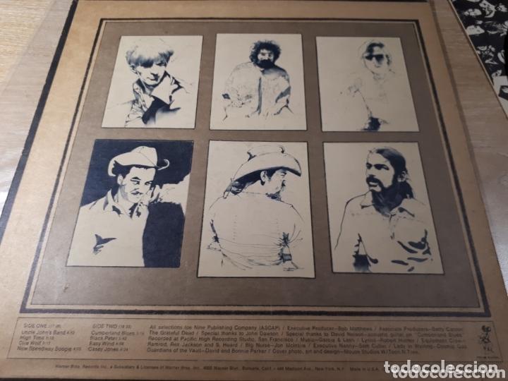 Discos de vinilo: The Grateful Dead Workingmans Dead LP promo Publicado para la radio antes de salir a la venta - Foto 3 - 173607119
