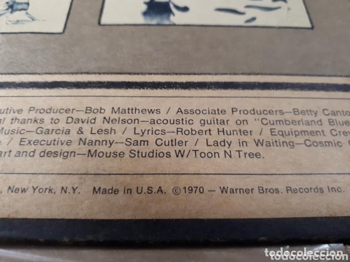 Discos de vinilo: The Grateful Dead Workingmans Dead LP promo Publicado para la radio antes de salir a la venta - Foto 4 - 173607119