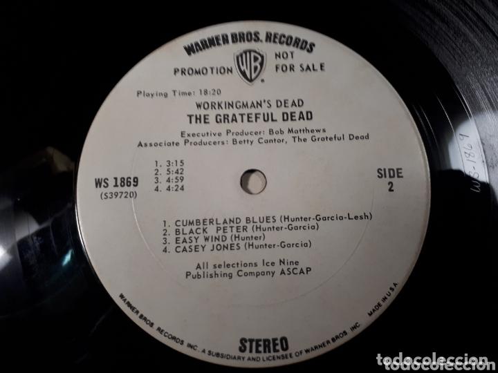 Discos de vinilo: The Grateful Dead Workingmans Dead LP promo Publicado para la radio antes de salir a la venta - Foto 6 - 173607119