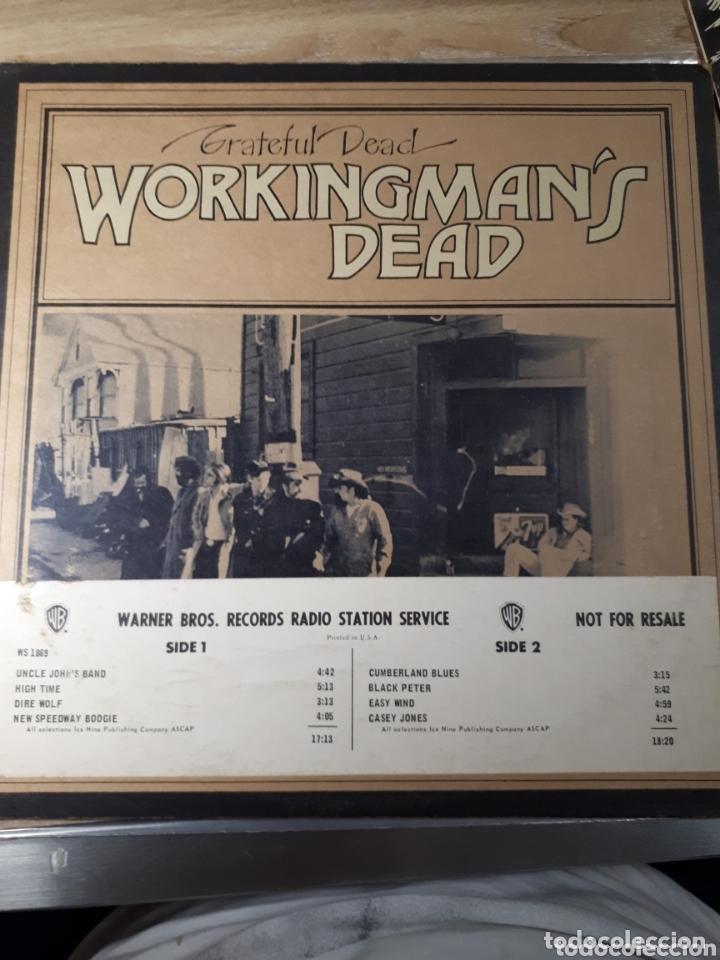 THE GRATEFUL DEAD WORKINGMANS DEAD LP PROMO PUBLICADO PARA LA RADIO ANTES DE SALIR A LA VENTA (Música - Discos - LP Vinilo - Pop - Rock - Extranjero de los 70)