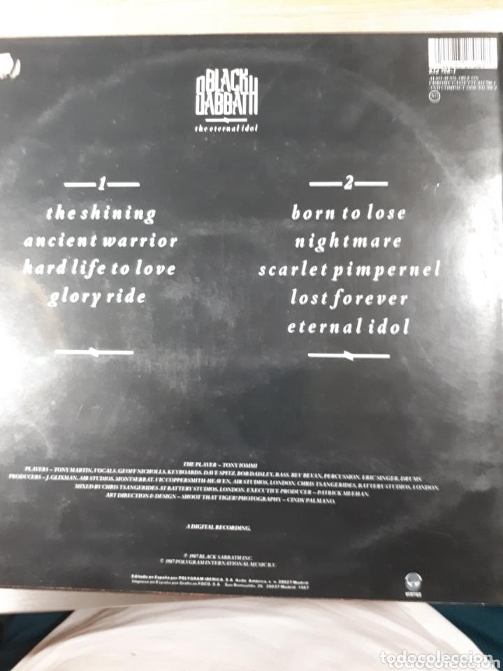 Discos de vinilo: BLACK SABATH THE ETERNAL IDOL muy dificil de conseguir - Foto 2 - 173607195