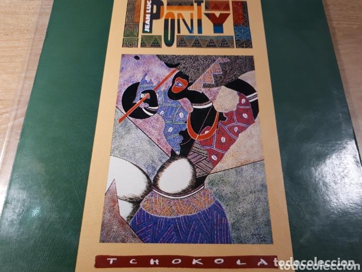 JEAN LUC PONTY TCHOKOLA (Música - Discos - LP Vinilo - Pop - Rock - Extranjero de los 70)