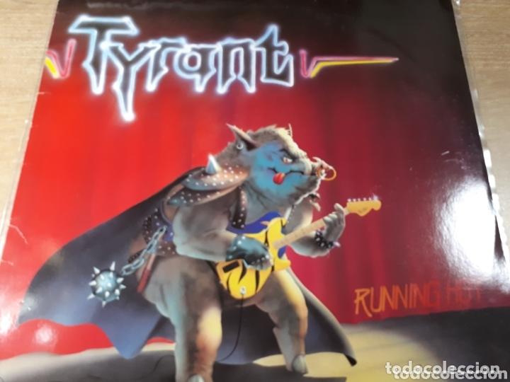 TYRANT RUNNING HOT (Música - Discos - LP Vinilo - Pop - Rock - New Wave Extranjero de los 80)