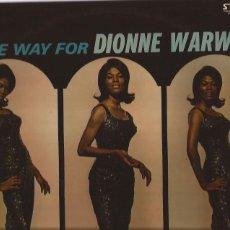 Discos de vinilo: LP MAKE WAY FOR DIONNE WARWICK FRANCE SCEPTER SOUL. Lote 173624275