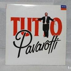 Disques de vinyle: DISCO VINILO DOBLE, TUTTO PAVAROTTI, DECCA. Lote 173627549