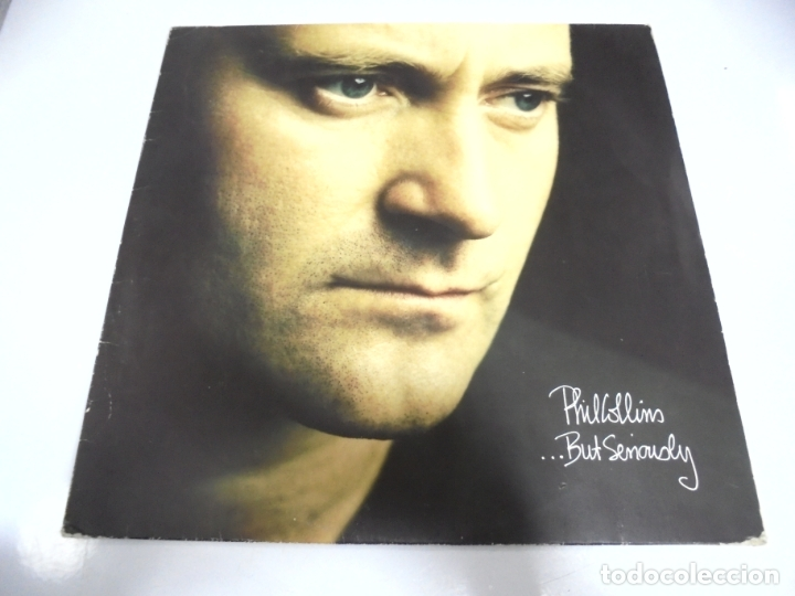 LP. PHIL COLLINS. ...BUT SERIOUSLY. 1989. WEA INTERNATIONAL (Música - Discos de Vinilo - Maxi Singles - Cantautores Extranjeros)